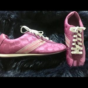 Coach Meredith Sneakers. Pink/Berry Color. New